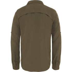 The North Face Sequoia Maglia a maniche lunghe Uomo, new taupe green